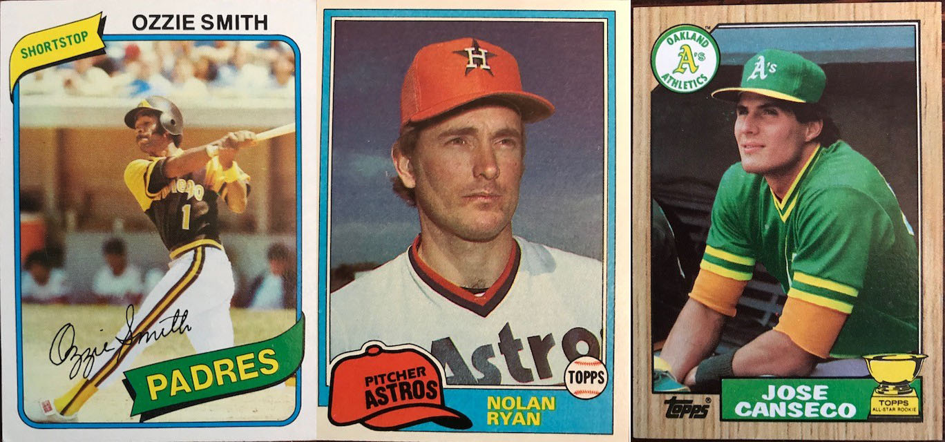 The 80s Baseball Cards Collection Connections