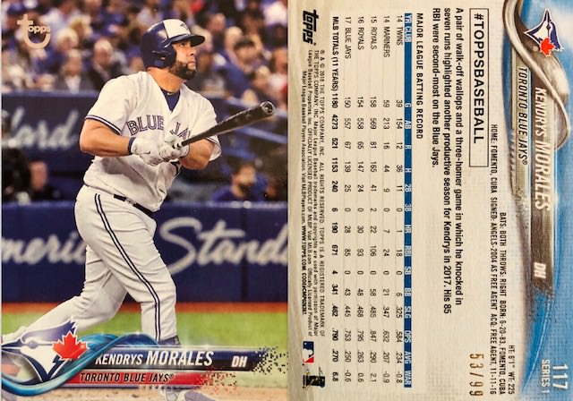 Topps 2018 Baseball Cards 13 Collection Connections